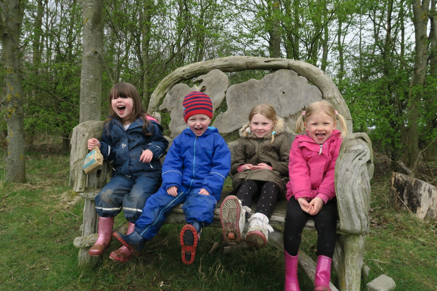 Blog and vlog – Day out at Washington Wetlands' Lego animal trail, North East England