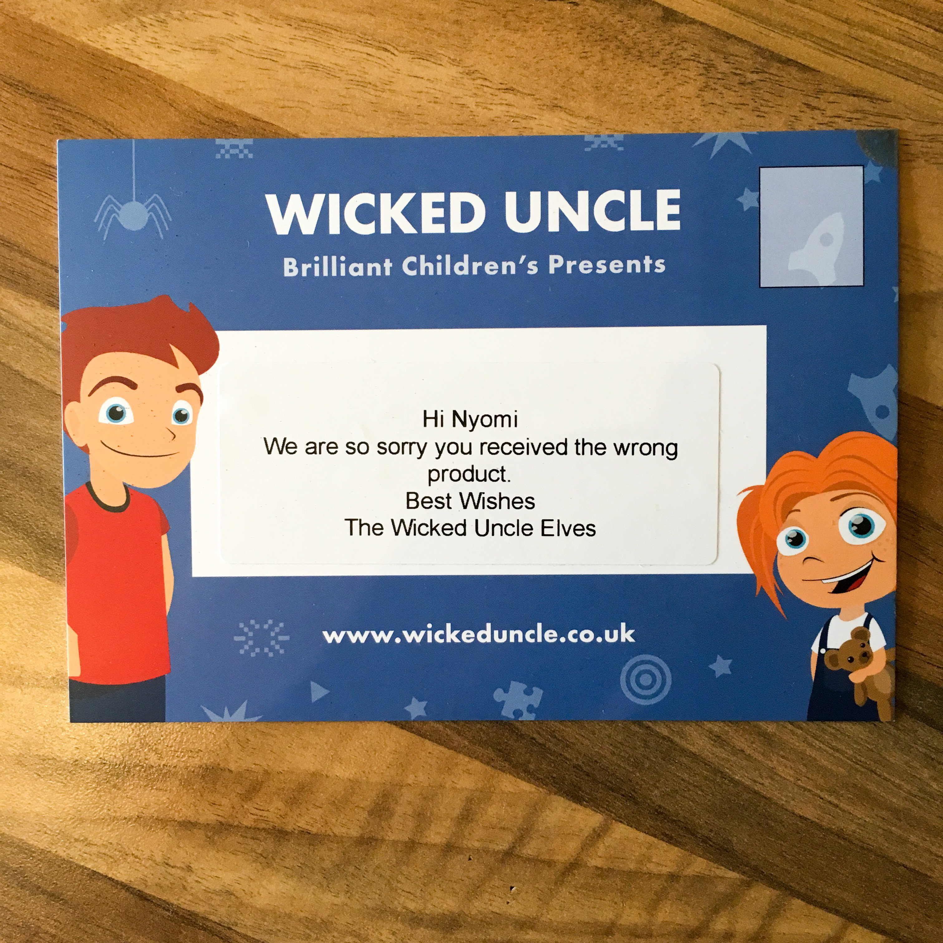 Review: Wicked Uncle - Kids' Gifts