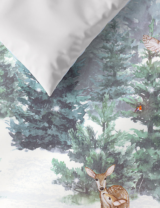 Best Christmas bedding. M&S reindeer.