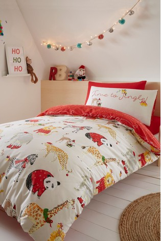 Best Christmas bedding. Jingle bells.