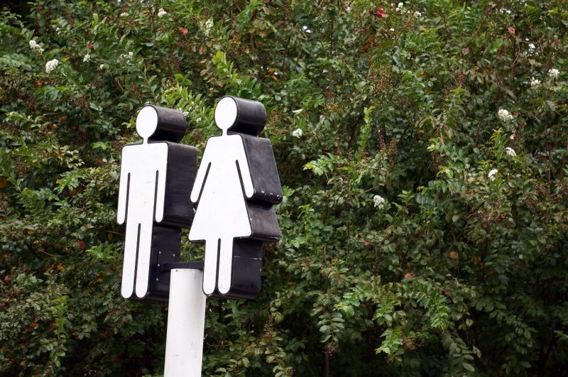 Why are women still queuing for toilets?