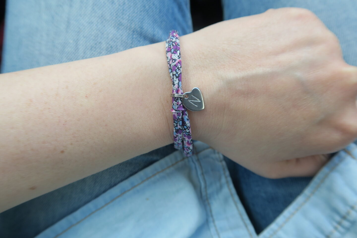 Mama Jewels Liberty London print personalised initial bracelet review and giveaway