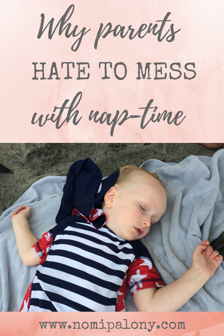 I totally relate to this! Need to send it to people who don't understand why I don't mess with nap-time: Why parents hate to mess with nap-time...