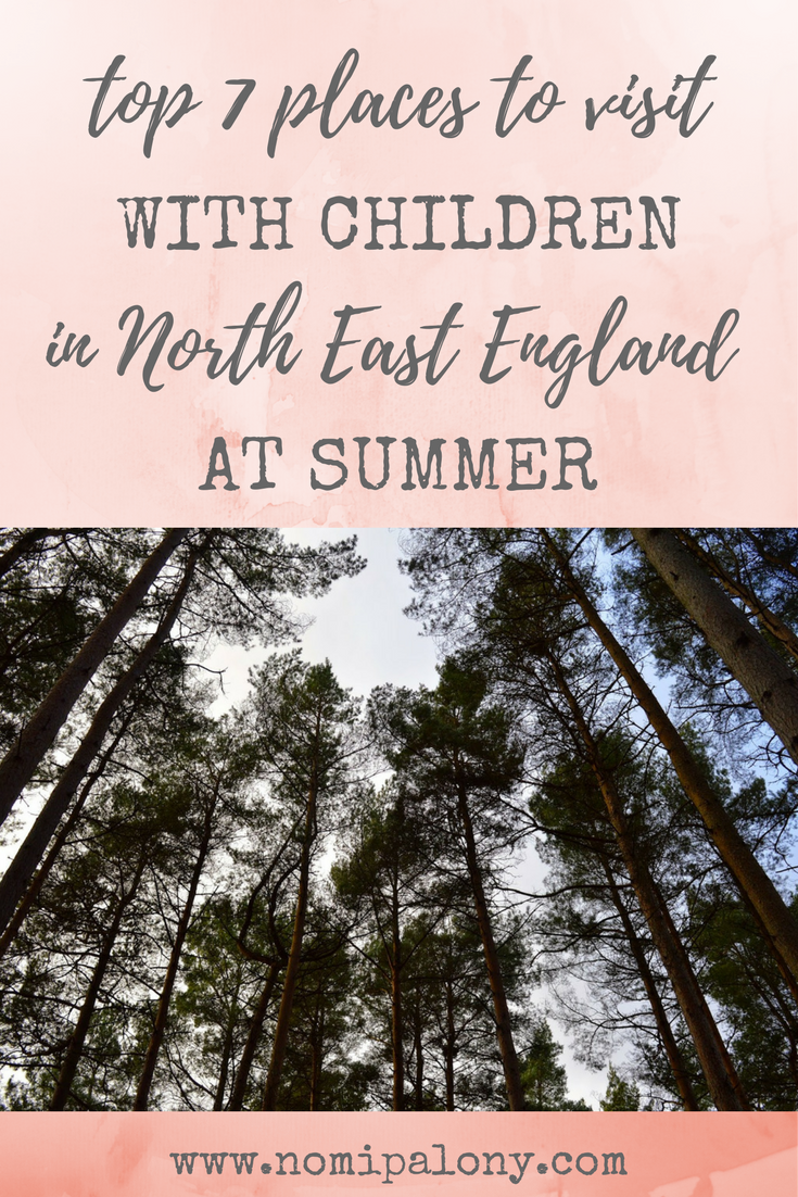 This is great, pinning for later! Top 7 places to visit with children in the North East England at summer