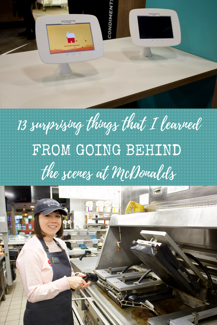 13 surprising new things I discovered going behind the scenes at McDonalds...