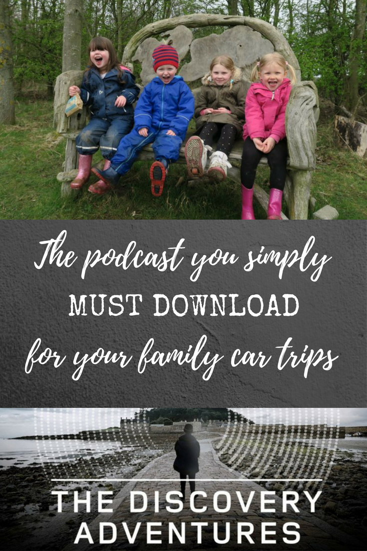 The new FREE podcast that you simply must download for your family car journeys. It will help keep the whole family entertained and enthralled. #AD