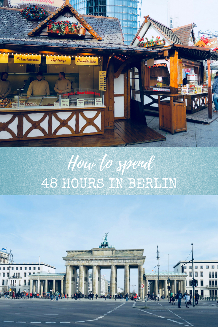 How to spend 48 hours in Berlin in the winter! Covers where to go and where to eat and top tips to save money. Includes the Tiergarten, Reichstag, Potsdamer Platz, Kreuzberg, Brandenberg Gate, Unter den Linten , Museum Island, Berliner Dom and more....