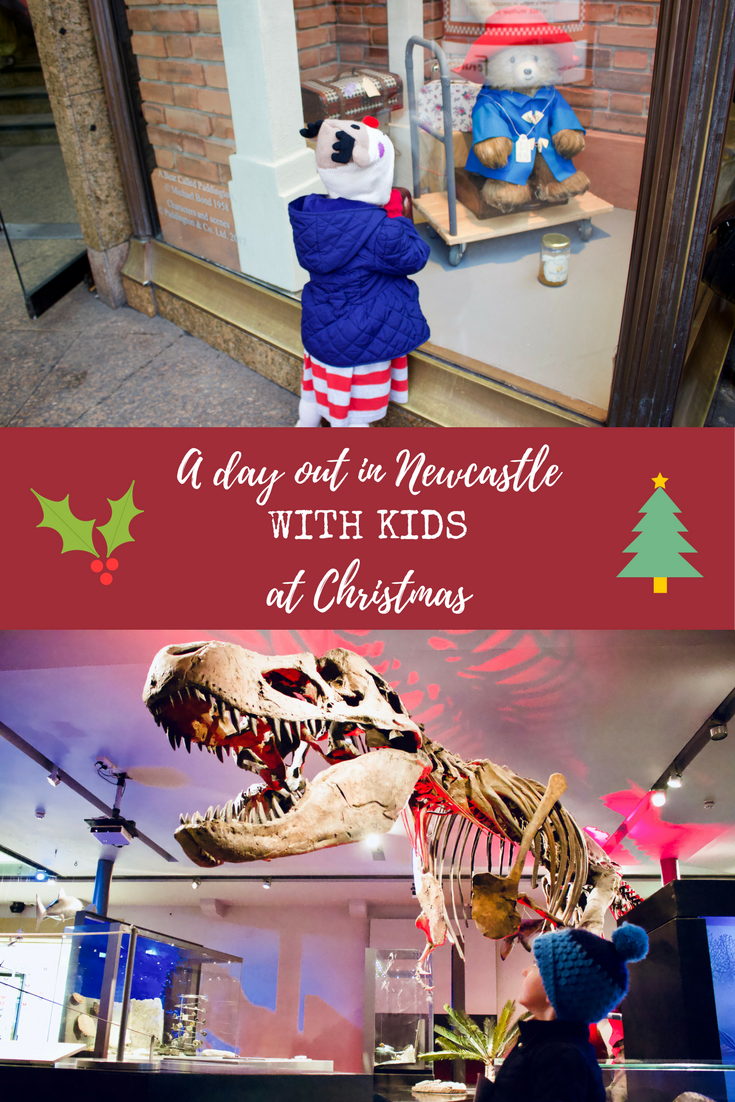 How to spend a day out in Newcastle with kids at Christmas.