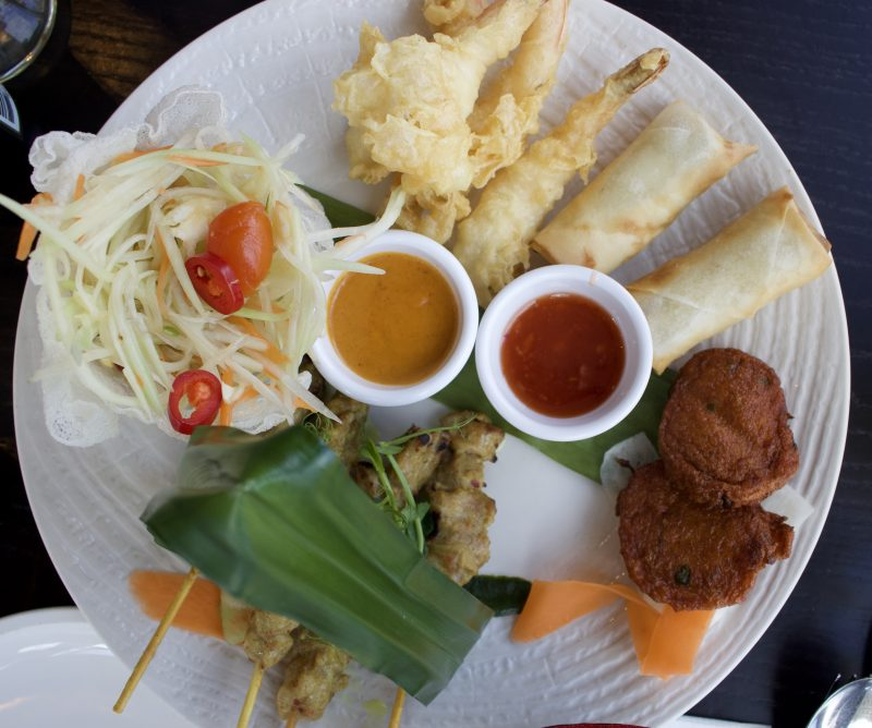 Chaophraya Newcastle review - Chaopraya platter