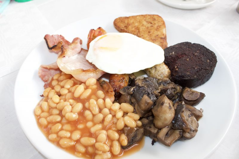 Heighley Gate Breakfast with the Easter Bunny - cooked english breakfast