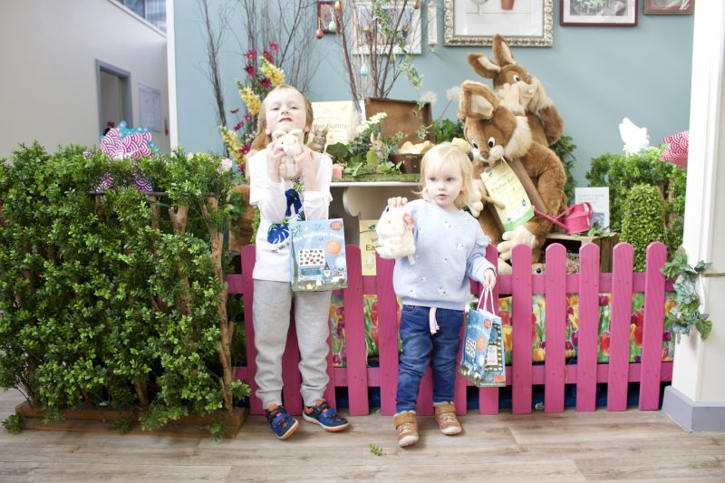 Heighley Gate Breakfast with the Easter Bunny - cuddly bunnies
