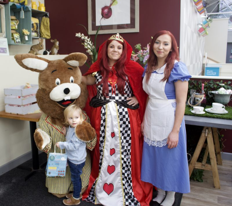 Heighley Gate Breakfast with the Easter Bunny - Bunny hunt characters
