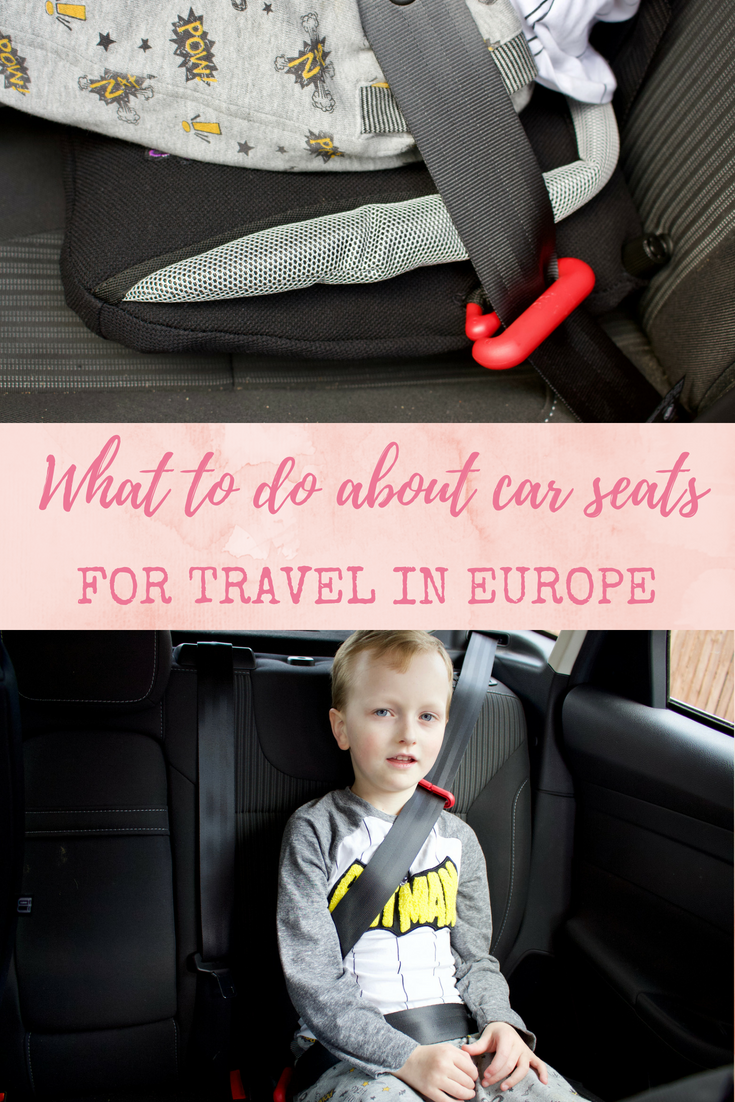 What to do about car seats for holiday transfers in Europe: Travel car seat comparisons