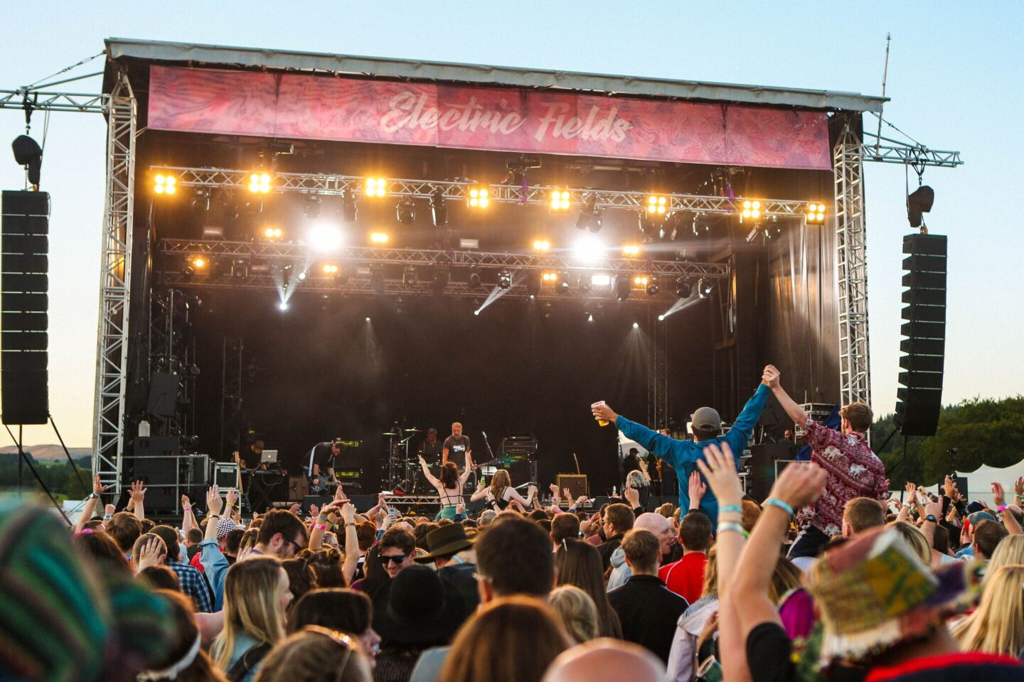 Why we have chosen Electric Fields as our first family camping festival…