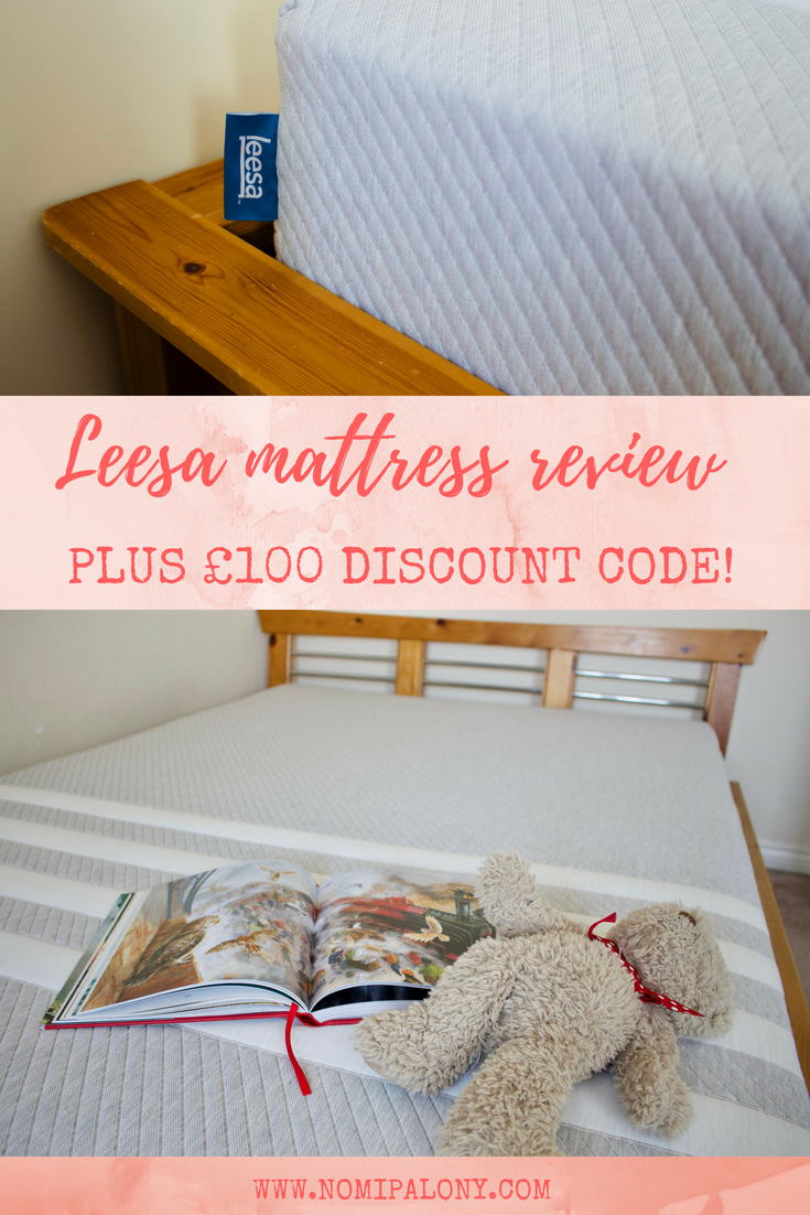 Leesa mattress review plus £100 discount code