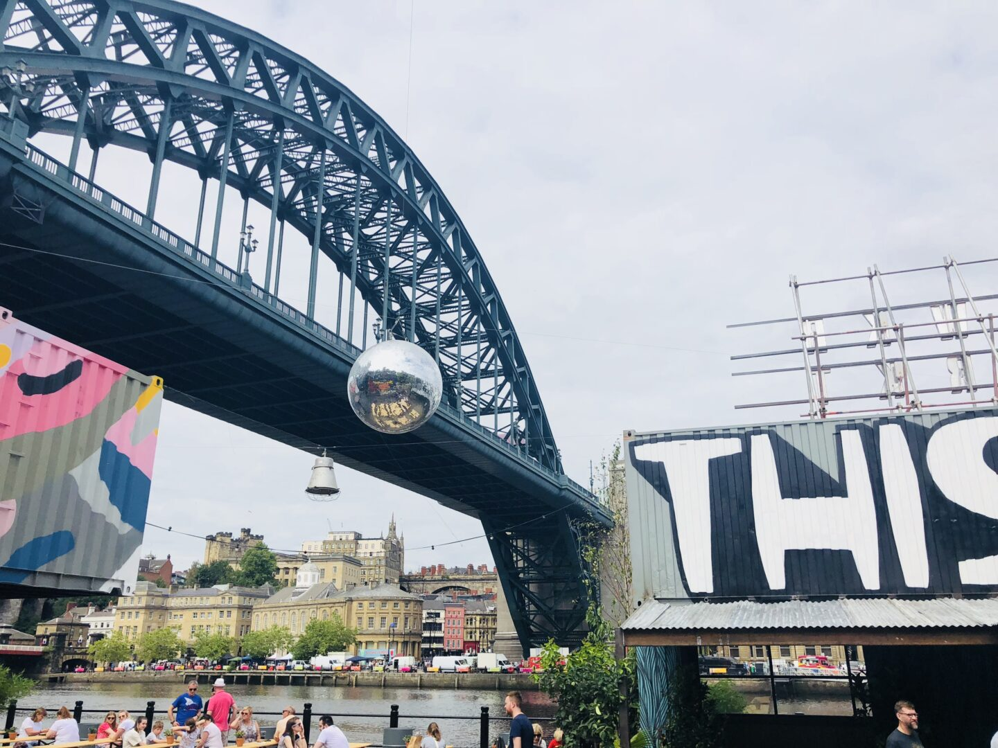 HWKRMRKT at By the River Brewing Co Newcastle Gateshead review