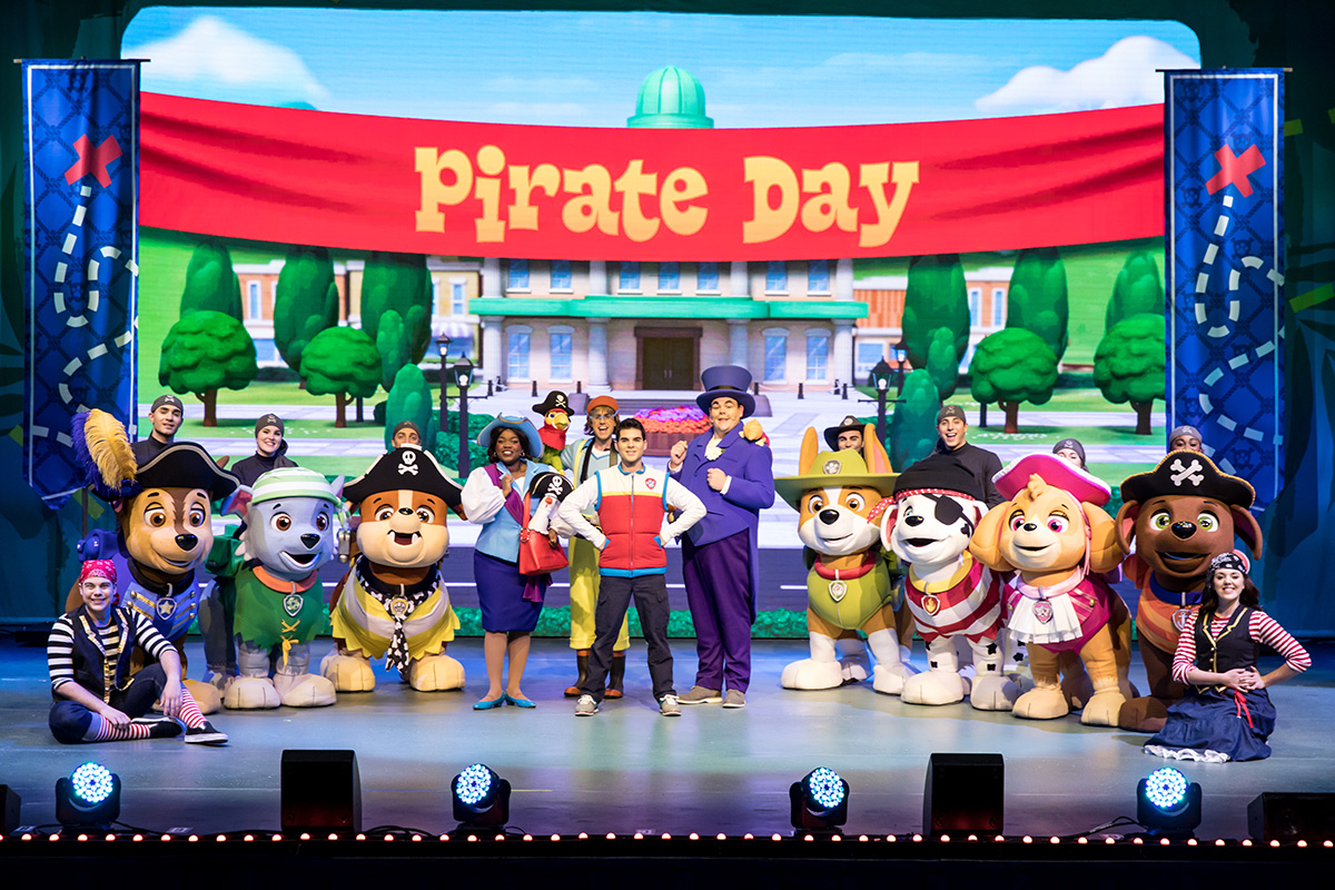 PAW Patrol Live! The Great Pirate Adventure review