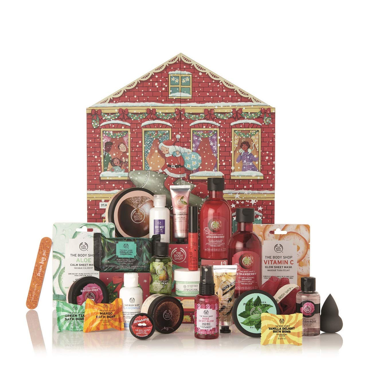 Best cruelty free beauty advent calendars 2019 - the Body Shop