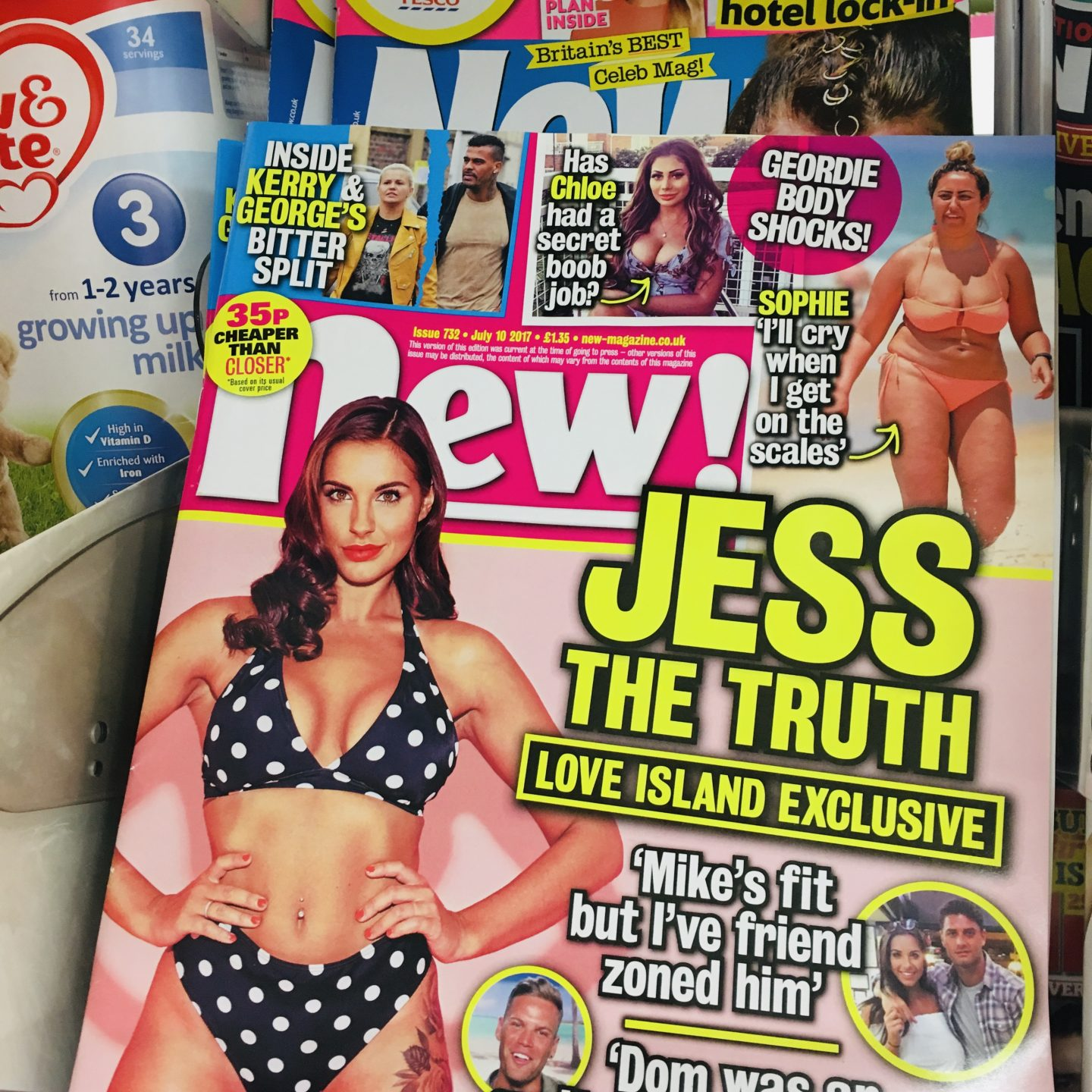 Why I don't read 'women's magazines' and why you shouldn't either...