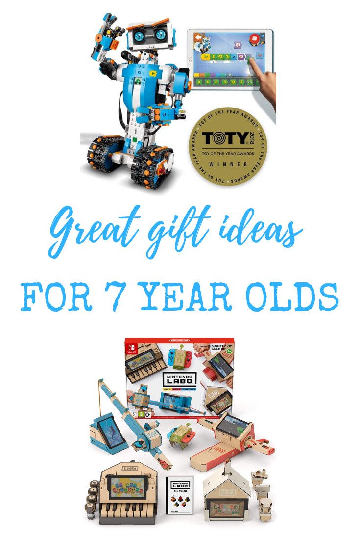 12 great gift ideas for seven year olds - including a range of educational STEM toys.