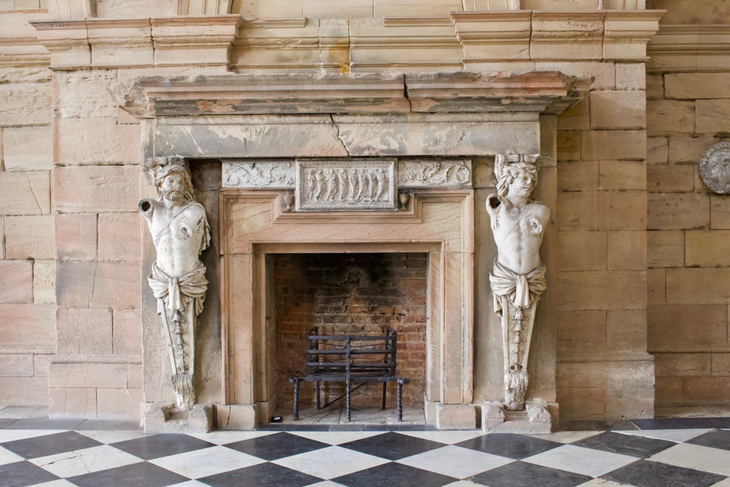 AD: Seaton Delaval Hall is under construction - what to expect...