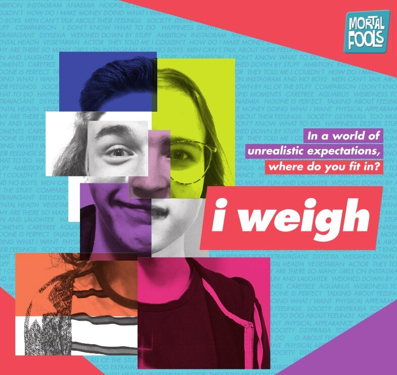 AD: I weigh - the theatre show about self image you have to see