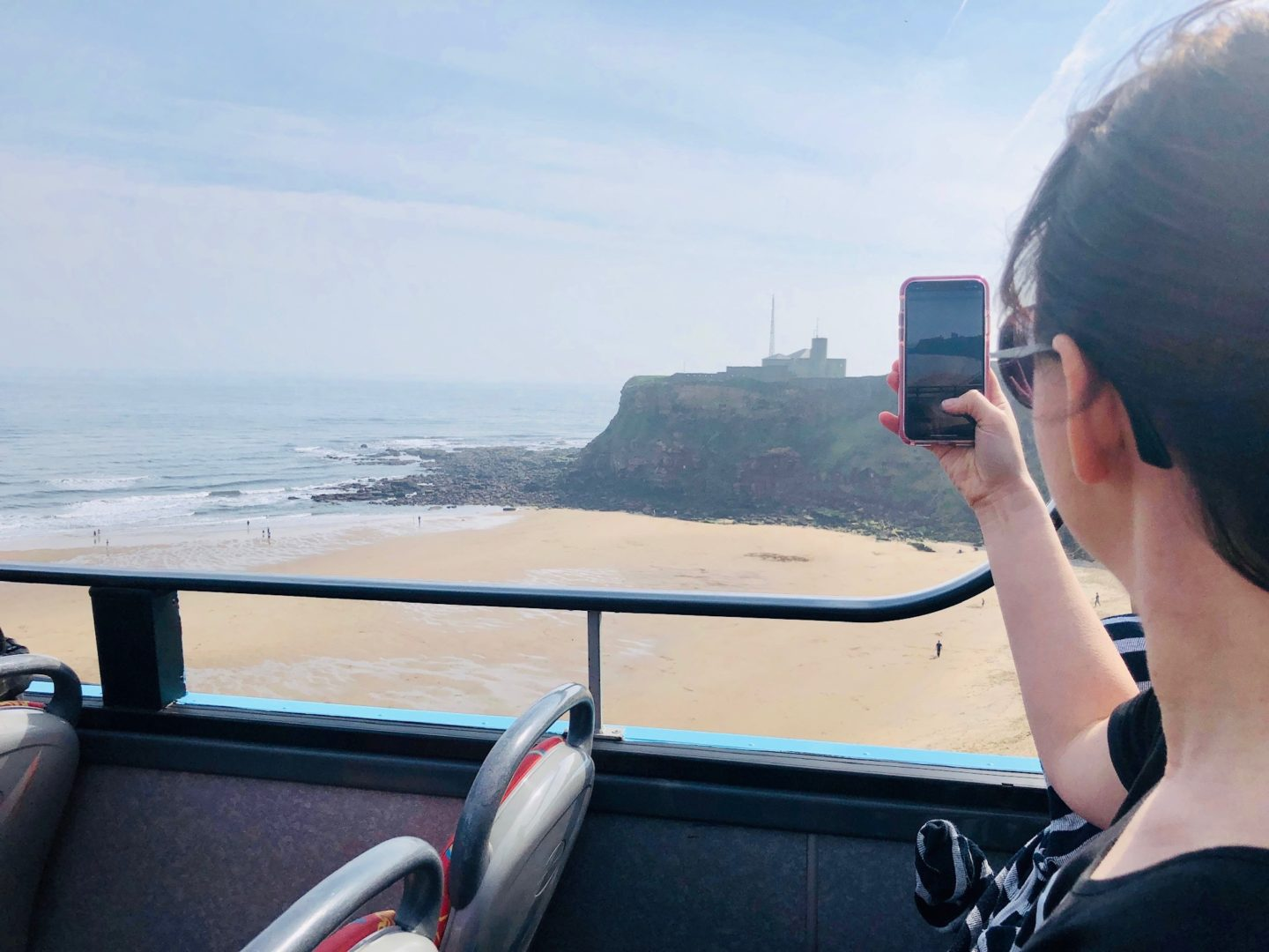 AD: A day out at Whitley Bay with Stagecoach's the Seasider open top bus service