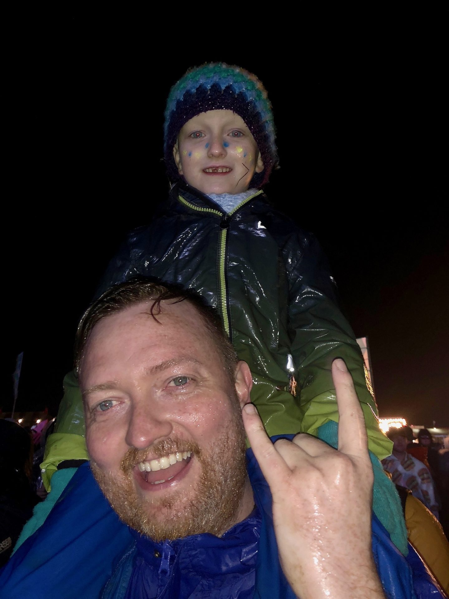 Letter to my first born on his 8th birthday - Arlo at Y Not Festival 2019