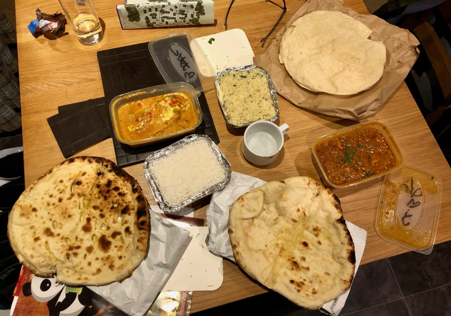 AD: Landal Sandybrook Peak District family review - a relaxing autumnal long weekend break. Indian takeaway from Anaya, ashbourne.