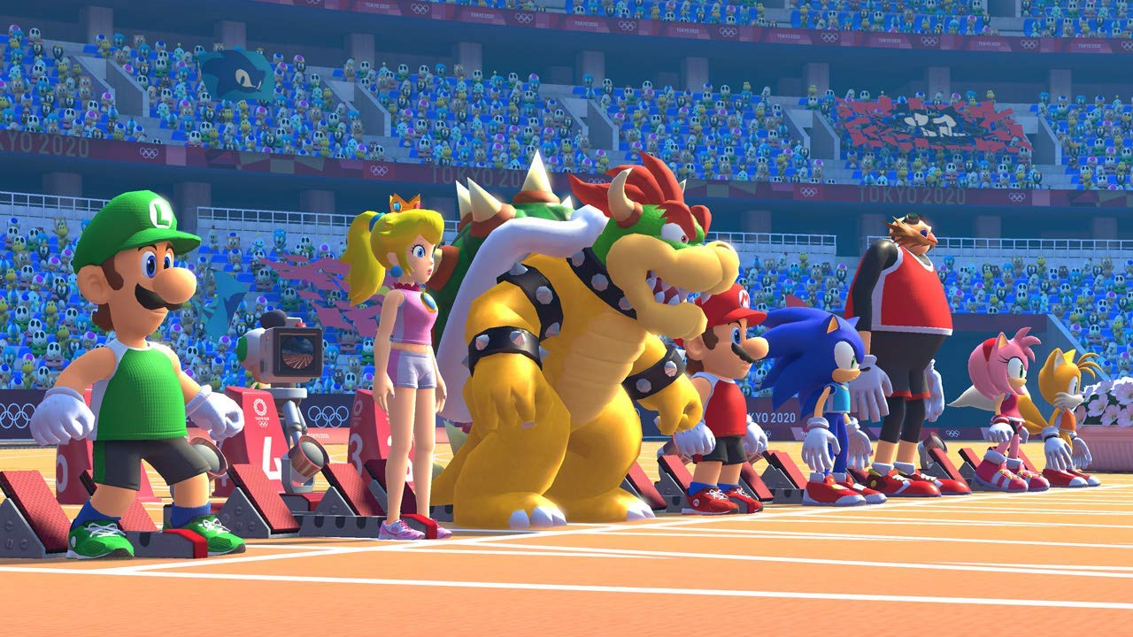 Inspiration for Christmas gifts for children - 10 things under £50 that I'm getting my 8 year old son and 5 year old daughter for Christmas this year. Mario and Sonic at the Olympic Games Tokyo.