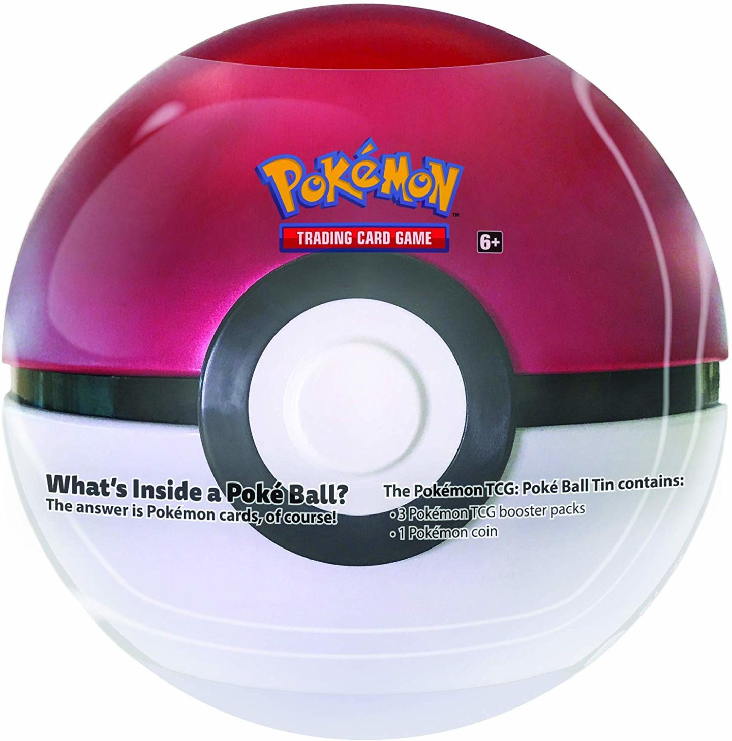 10 Pokemon gifts for kids you can buy on Amazon. Poke ball tin.