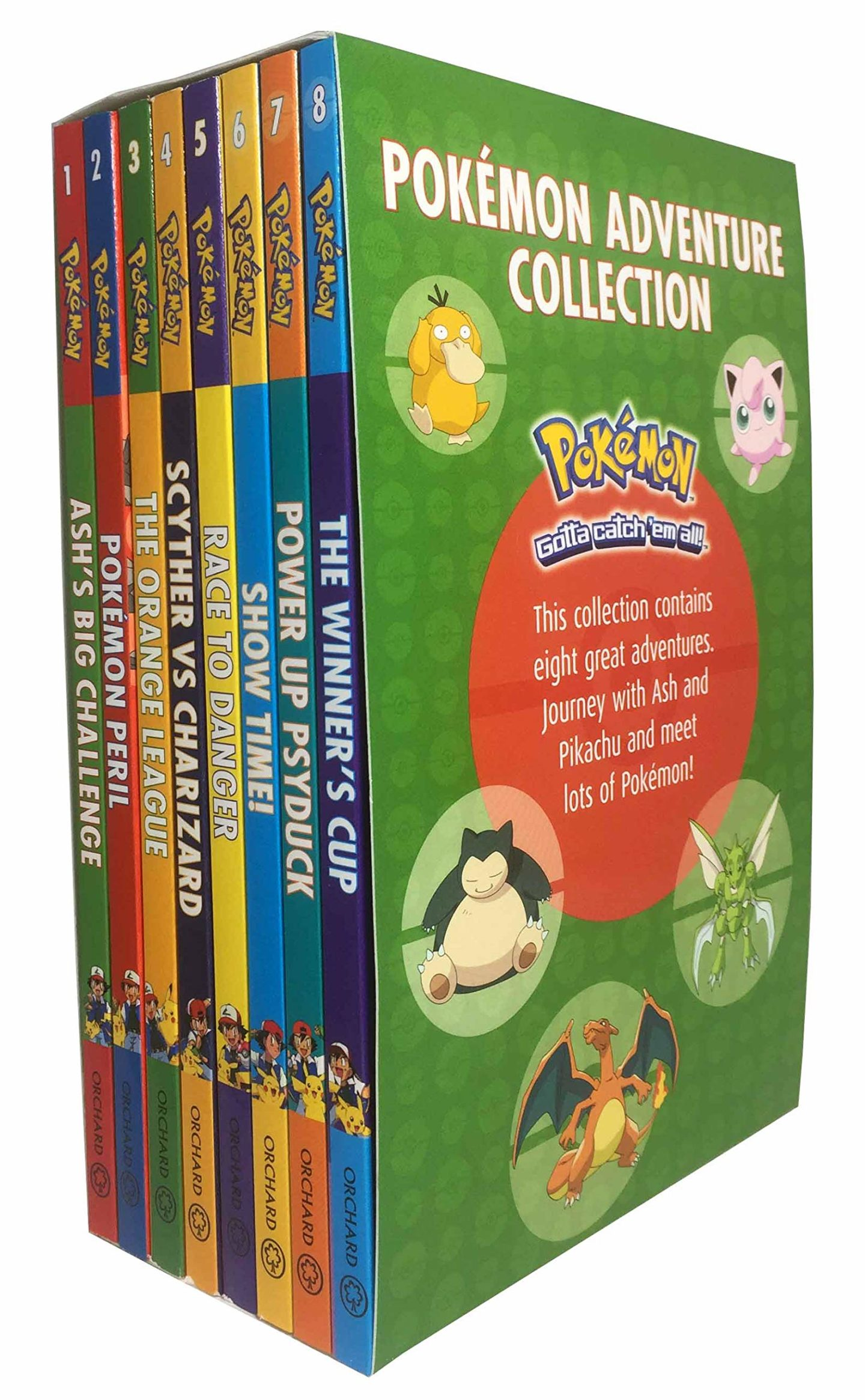 10 Pokemon gifts for kids you can buy on Amazon. Pokemon adventure book collection.