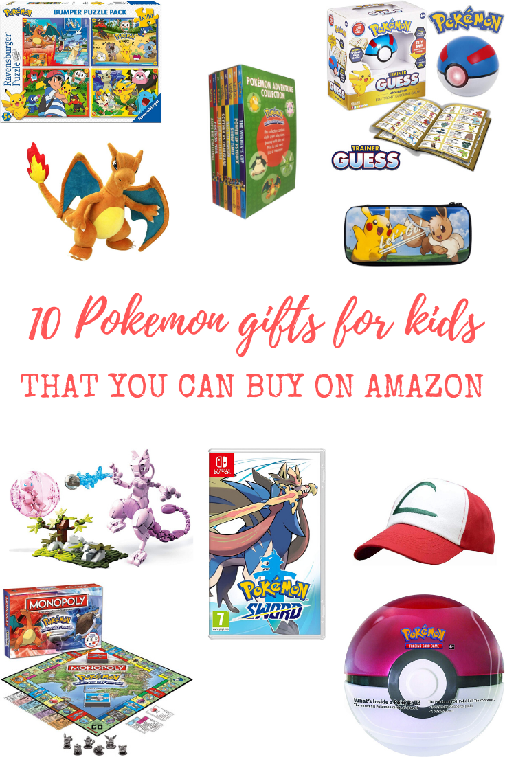 10 Pokemon gifts for kids that you can buy on Amazon