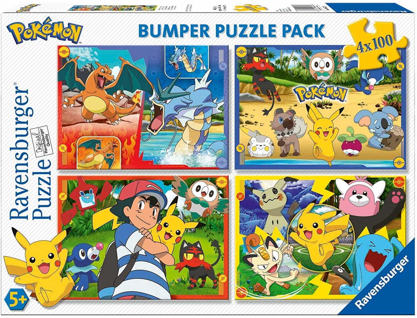 10 Pokemon gifts for kids you can buy on Amazon. Ravensburger bumper puzzle pack.