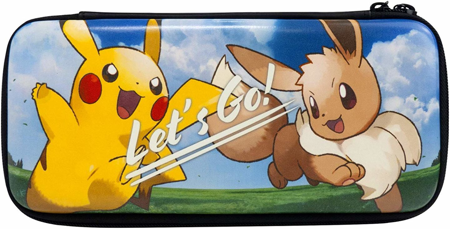 10 Pokemon gifts for kids you can buy on Amazon. Nintendo Switch case.