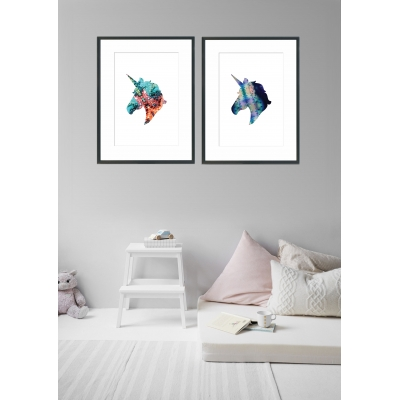 Inspiration for Christmas gifts for children - 10 things under £50 that I'm getting my 8 year old son and 5 year old daughter for Christmas this year. Unicorn print.