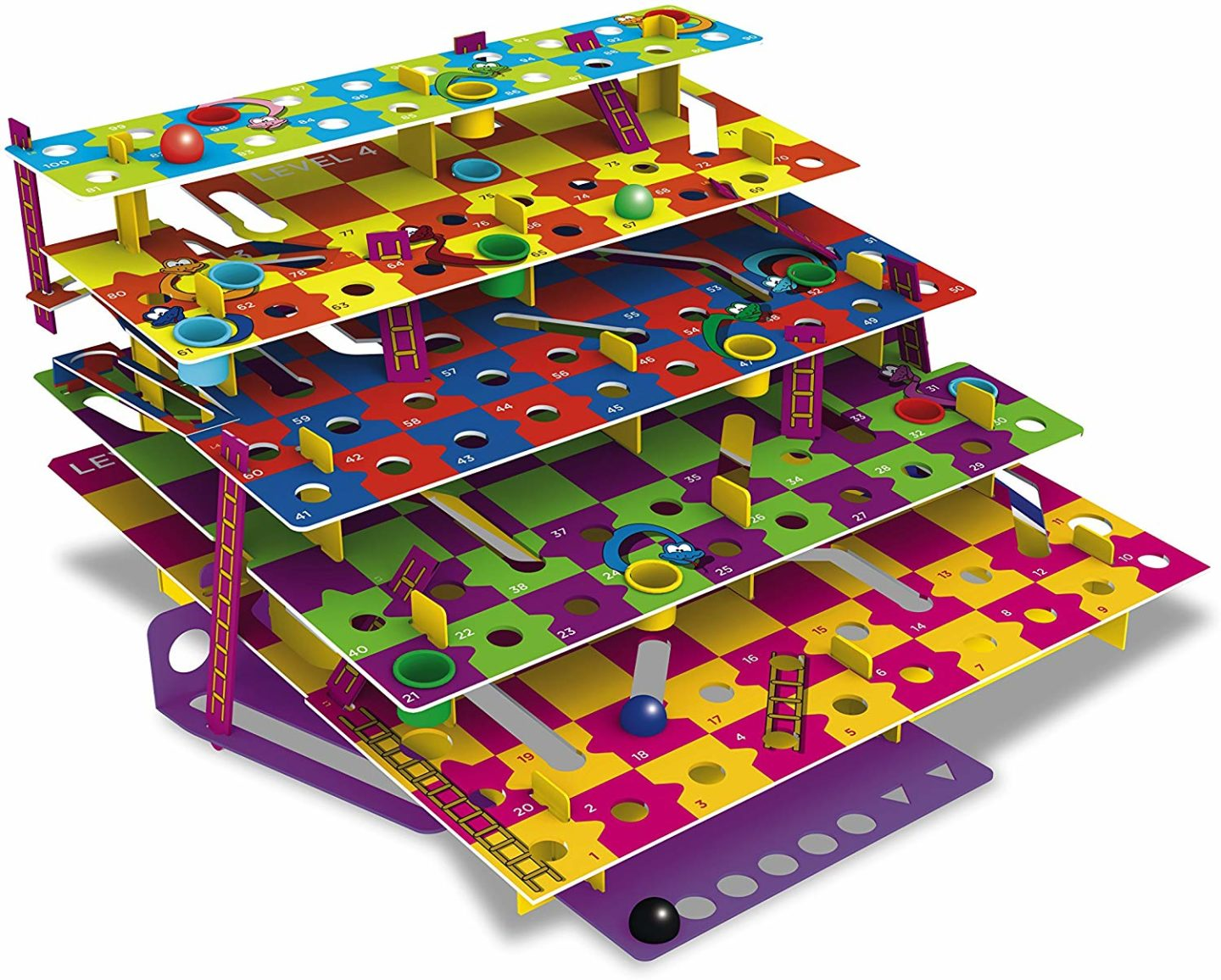 Inspiration for Christmas gifts for children - 10 things under £50 that I'm getting my 8 year old son and 5 year old daughter for Christmas this year. Multi-level snakes and ladders game.