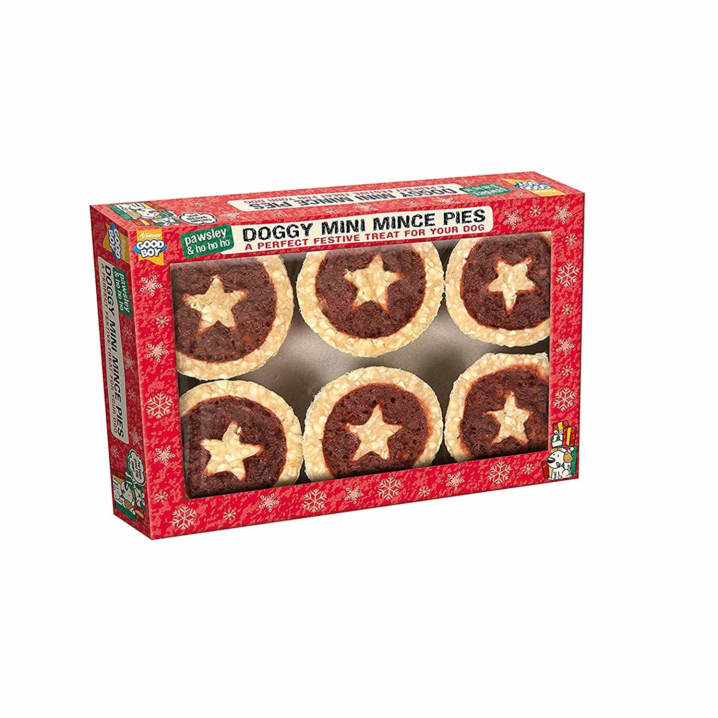 AD: Ideas for Christmas gifts for pets - doggy mince pies