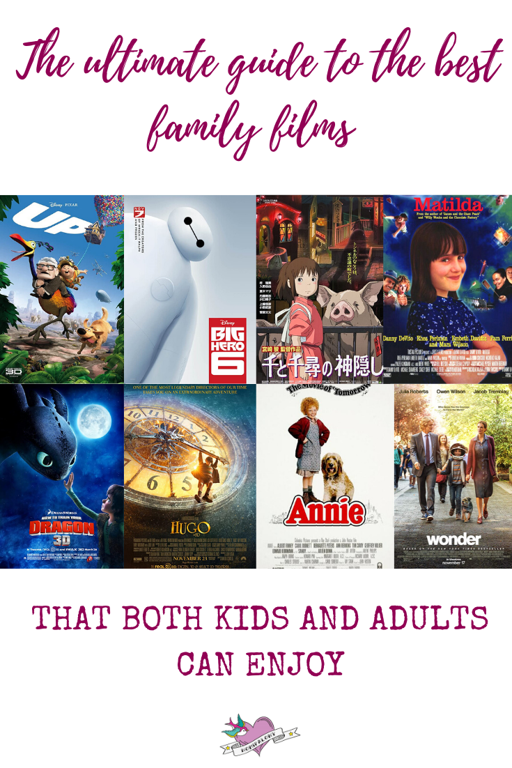 The ultimate guide to the best family films that both children AND adults will enjoy