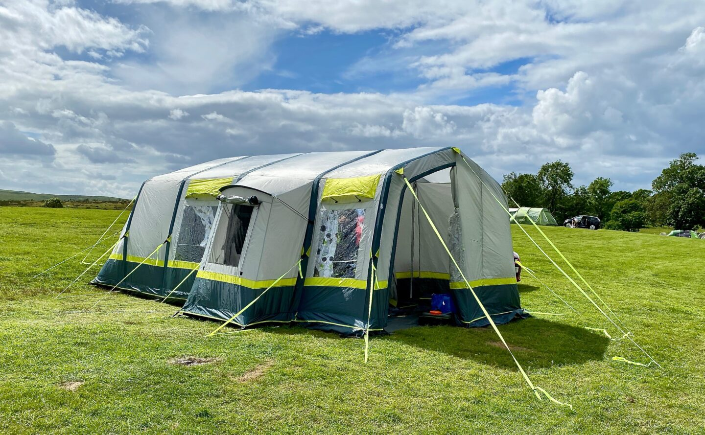AD: OLPRO Home 5 berth family air tent review
