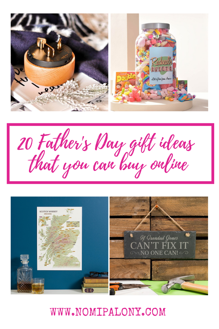 20 Father's day gift ideas that you can buy online with plenty of ideas to suit all budgets from £6.99-£129.99.