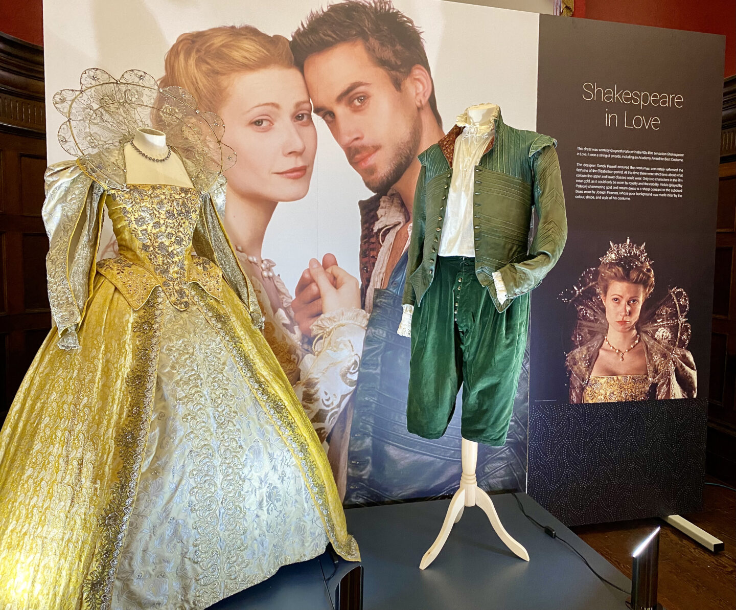 Gywneth Paltrow's dress from Shakespeare in Love