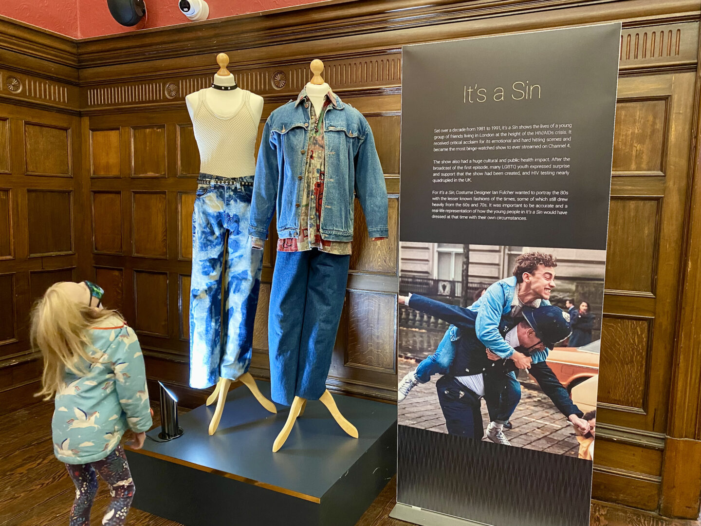 2 denim outfits from It's a Sin